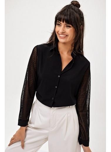 New Laviva Gömlek Siyah